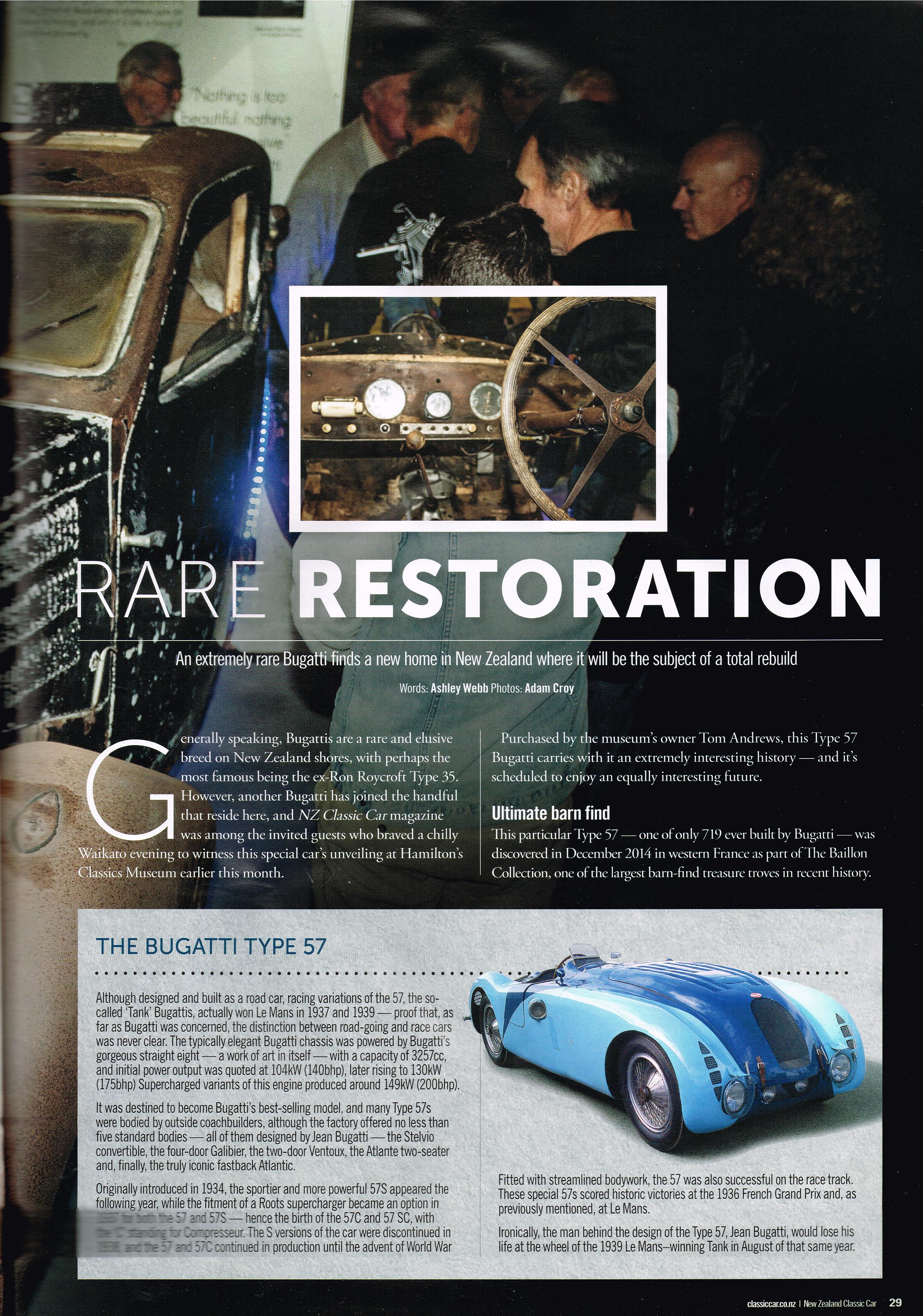 NZ Classic Car Magazine Aug 2015